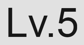 레벨 5 아이콘